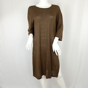 J. Jill Lightweight Linen Sweater Tunic